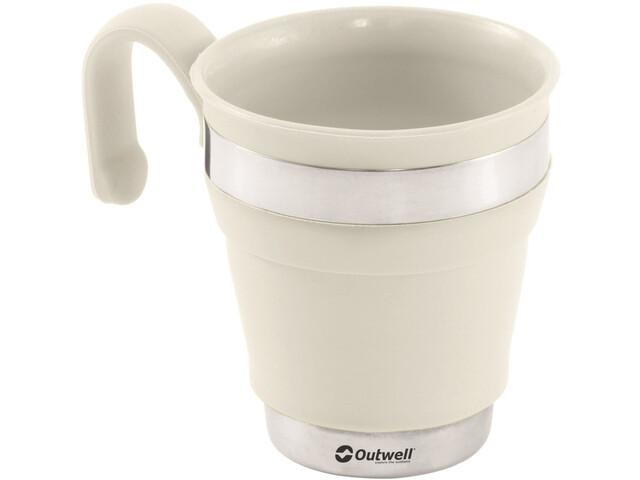 Outwell Collaps Mug cream white